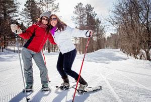 Snowshoeing_Hardwood